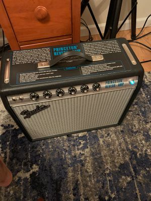 1968 fender Princeton reissue in new condition $700 obo for Sale in Seattle, WA