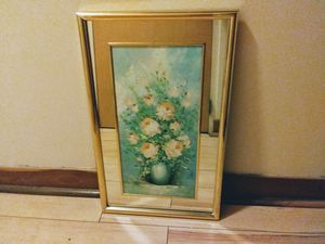 Wall Hanging Oil Painting Mirror for Sale in St. Louis, MO