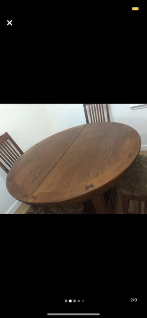 Ethan Allen Kitchen Table w/ 4 Chairs for Sale in Winter Haven, FL