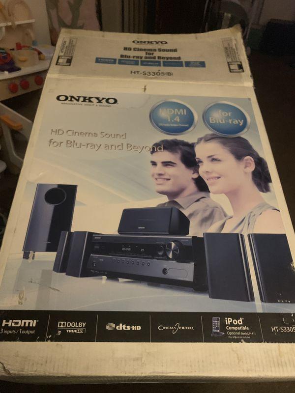 Onkyo surround sound