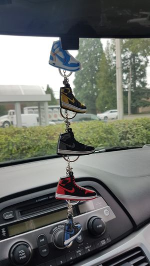 Jordan Sneaker Key Chains/Bag's Accessory - $5 EACH for Sale in Vancouver, WA