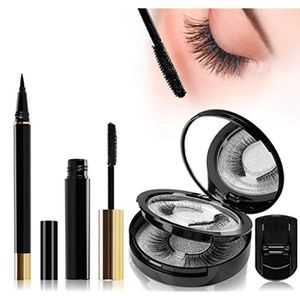 Magnetic Eyelashes and Magnetic Eyeliner Kit with Tweezers and Mirror for Easy Application - for Sale in Rancho Cucamonga, CA