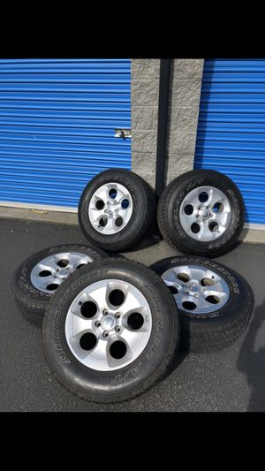 Jeep Wrangler Wheels and Tires for Sale in Snohomish, WA