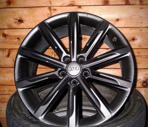 Audi 19 Inch Satin black Summer Wheels Original, made in italy ( Audi A6 S6 4K C8 S-LINE ) 4K0601025G Alloy Rims $550 all 4 for Sale in Downey, CA