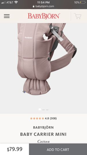 Baby carrier mini for Sale in Dallas, TX