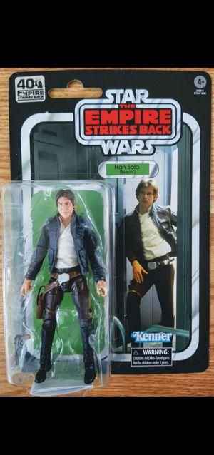 New Star Wars Empire Strikes Back 40th Anniversary Han Solo Figure. for Sale in Apopka, FL