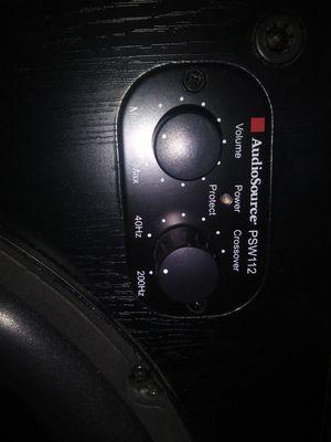 Audiosource subwoofer for Sale in Hampton, VA