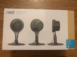 Nest Cam Indoor 3 pack (NC1104US) NEW for Sale in Simpsonville, SC