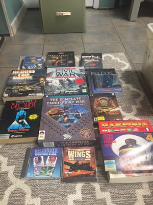 Old school computer games...anyone? for Sale in Downers Grove, IL