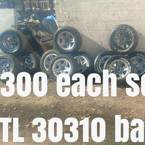 Rallies wheels bad tire's rally for Sale in Atlanta, GA