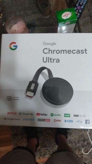 Google Chromecast Ultra for Sale in Jacksonville, FL