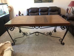 Rustic Dining Table with 6 chairs for Sale in Phoenix, AZ