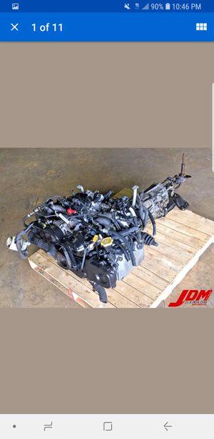 Used JDM Subaru Forester 1998-2002 EJ202 2.0L Engine & 5 Speed Manual Transmission for Sale in Atlanta, GA
