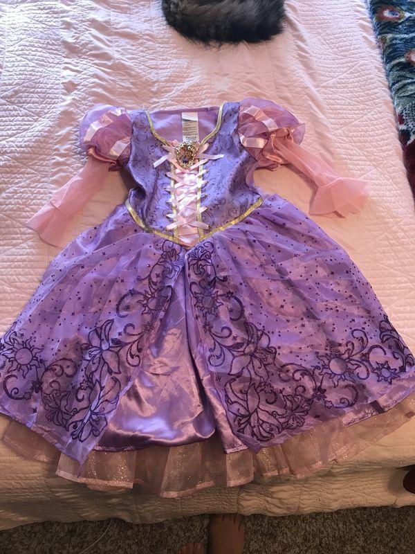 Rapunzel costume dress
