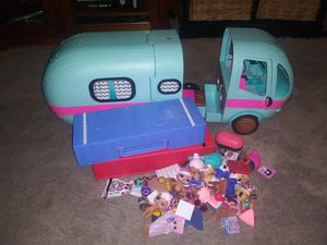 Lol dolls accessories an camper for Sale in West Pittsburg, PA