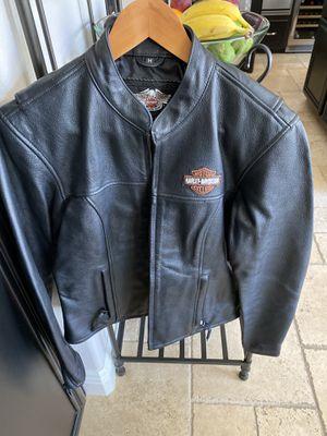 Harley Davidson Black Leather jacket size M for Sale in Chula Vista, CA
