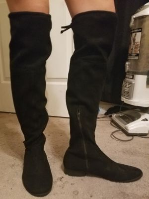 Thigh High Faux Suede Boots (size 10) for Sale in La Vergne, TN