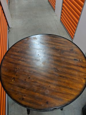 West Elm - industrial frame bar table for Sale in Seattle, WA