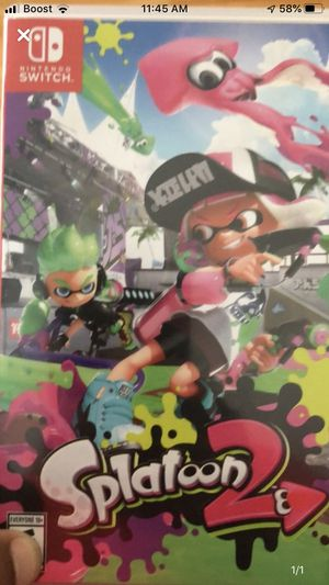 Switch Game Splatoon 2 for Sale in The Bronx, NY