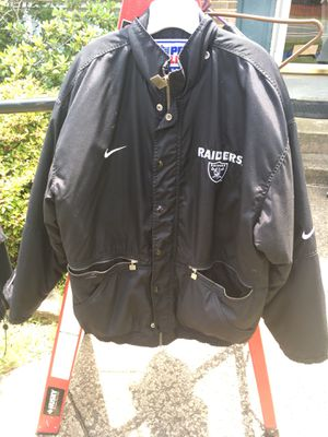 Oakland Raiders jacket for Sale in Manassas, VA