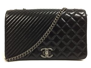 Chanel Coco Boy Classic Medium Flap Quilted Glazed Calfskin Leather Shoulder Bag for Sale in Perris, CA