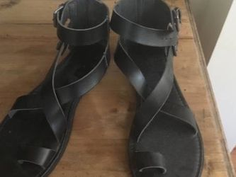 Faux Leather Sandals-Size 10 for Sale in Raleigh,  NC
