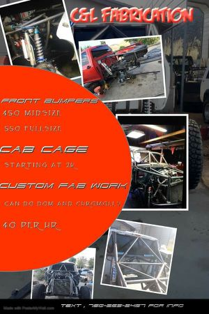 Off-road fabrication work for Sale in Phelan, CA