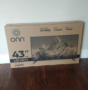 43 inch led hdtv ..new in the box and sealed for Sale in Plano, TX