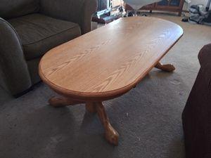 Coffee table great shape oak for Sale in Mill Creek, WA