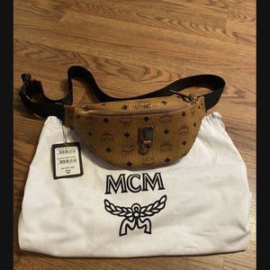 Brand new Authentic Unisex MCM pouch for Sale in Arlington Heights, IL