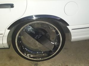 22inches rims for Sale in Midland, TX