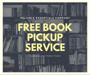 Free Book Pickup Service for Sale in Lowell, MA