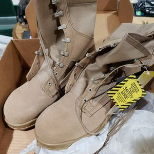 Belleville Steel toe HOT Weather Desert Boots Size 11.5W for Sale in Highland, CA