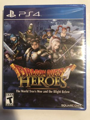 Dragon Quest Heroes : The Tree's Woe and Blight Below NEW SEALED for Sale in Arlington, TX