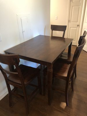 Tall dining table and chairs for Sale in Seattle, WA