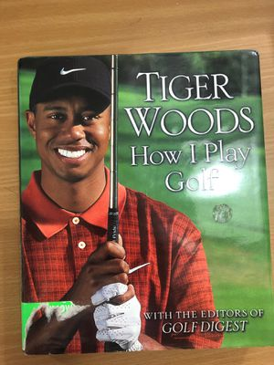 Tiger Woods How To Play Golf Book for Sale in Tustin, CA