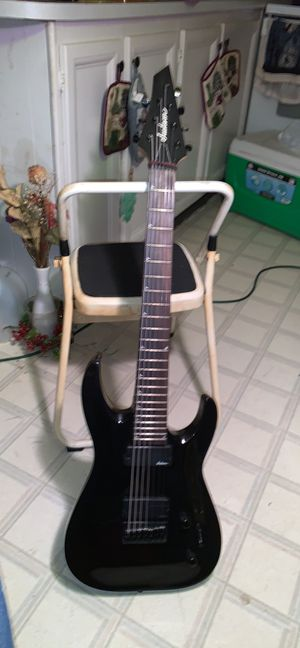 Jackson 7 string with active pickups for Sale in Danville, PA