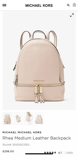 Michael kors backpack for Sale in Bristow, VA