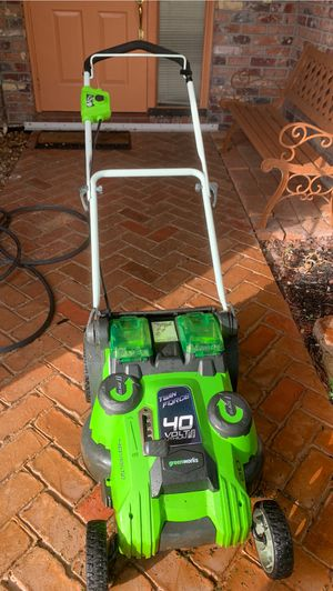 Green works electric lawn mower for Sale in Pompano Beach, FL