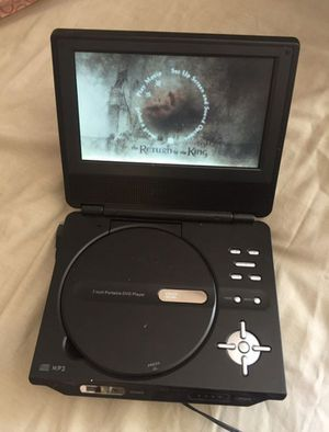 7 Inches Portable DVD Player for Sale in Alpharetta, GA