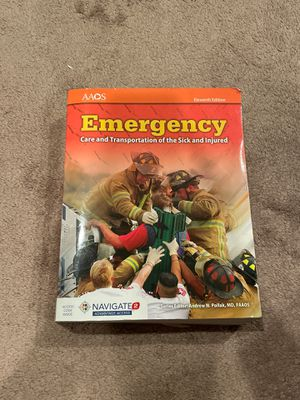 Emergency Care and Transportation Book for Sale in Anaheim, CA