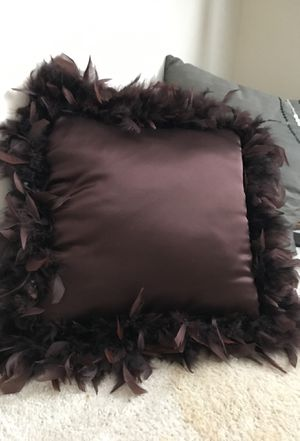 "Feather ""she-shed"" pillow for Sale in Loganville, GA"
