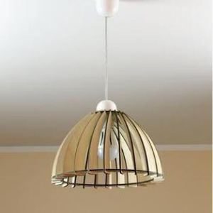 Wooden lamp/eco-friendly/accent for home/decorative ceiling lamp/wooden lamp shade for Sale in Chicago, IL