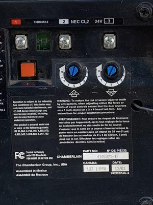 LiftMaster 1/2 HP garage door opener. All parts and in working order. for Sale in Clovis, CA