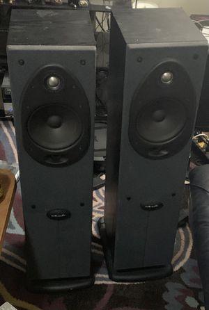 Polk Audio center and Tower speakers for Sale in Ogden, UT
