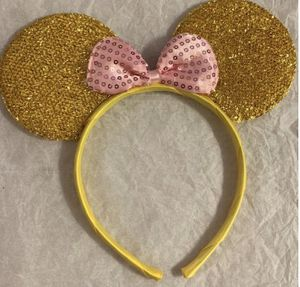 Gold Mickey ears for adults and kids for Sale in Holiday, FL