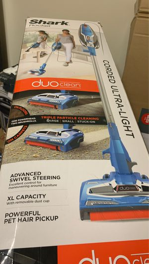 Shark Rocket Complete Corded Vacuum with DuoClean, Blue, HV381 for Sale in Indian Trail, NC
