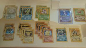 20x Base Set Unlimited Holo Rare Pokemon Cards! for Sale in Seattle, WA