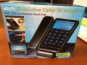 Phone sleek modern design 18 functions caller ID NEW for Sale in Chicago, IL