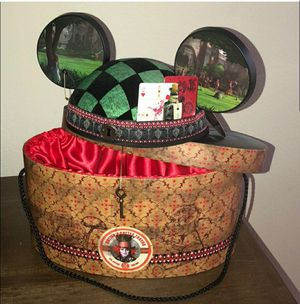 Limited Edition Disney Mickey Ears Alice in Wonderland for Sale in Hawaiian Gardens, CA